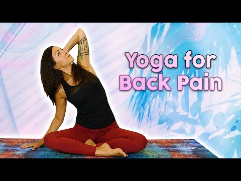 yoga exercise for back pain 15 minutes class5 positions