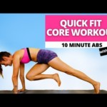 10-Minute Overall Core Workout|Health and fitness Training, No Tools